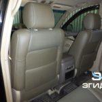 Перетяжка салона Toyota LC Prado 120