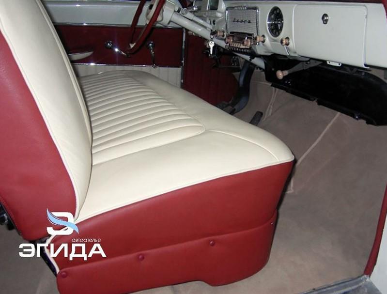 Перетяжка салона ГАЗ 21 Волга